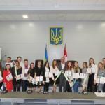 Вручення дипломів про присвоєння стипендії міського голови кращим студентам м. Біла Церква